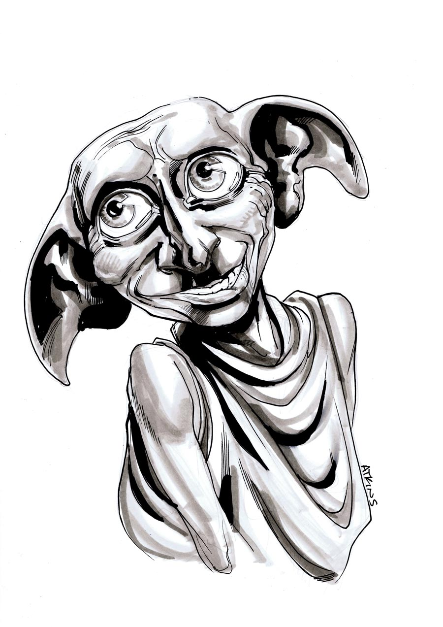 doby harry potter coloring pages - photo#12