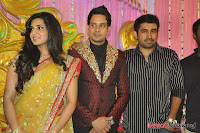 Celebraties at Actor Bharat n Jessy Wedding Reception Photos+%2528106%2529 Actor Bharath n Jessy Wedding Photos