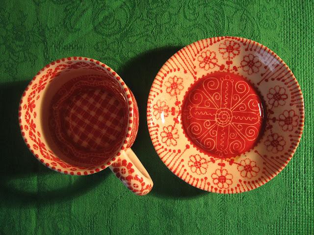Чайная пара ручной работы
