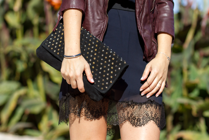 Accessories Spiked Clutch by Mango Silver Silhouette Star Bracelet: STAR collection by CHAVIN