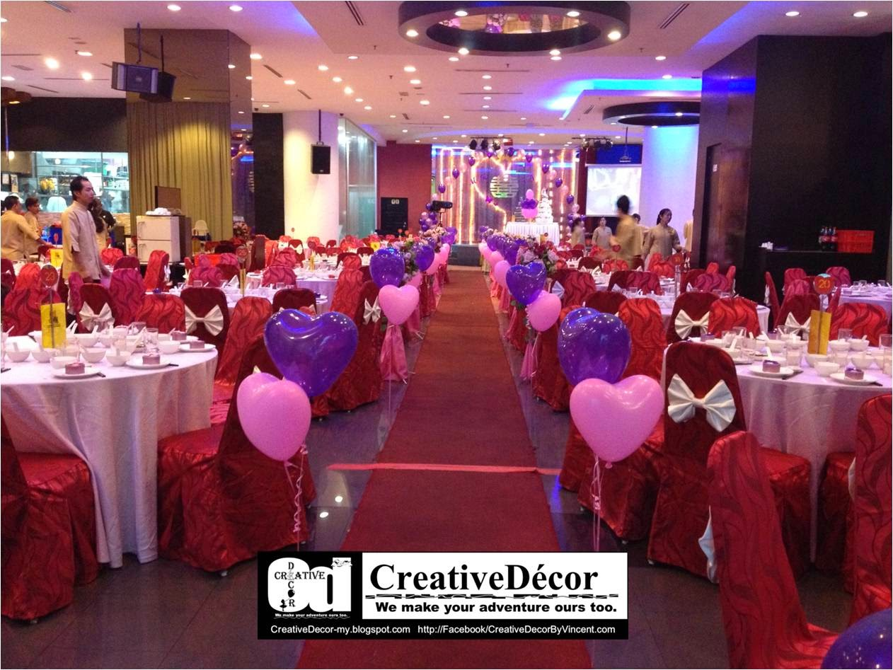 Creativedécor by vincent balloon decoration chinese