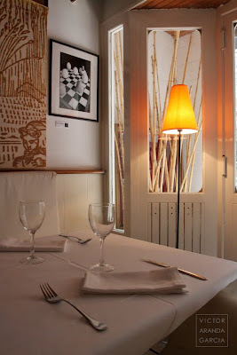 exposicion de fotografia en restaurante Involtino Valencia