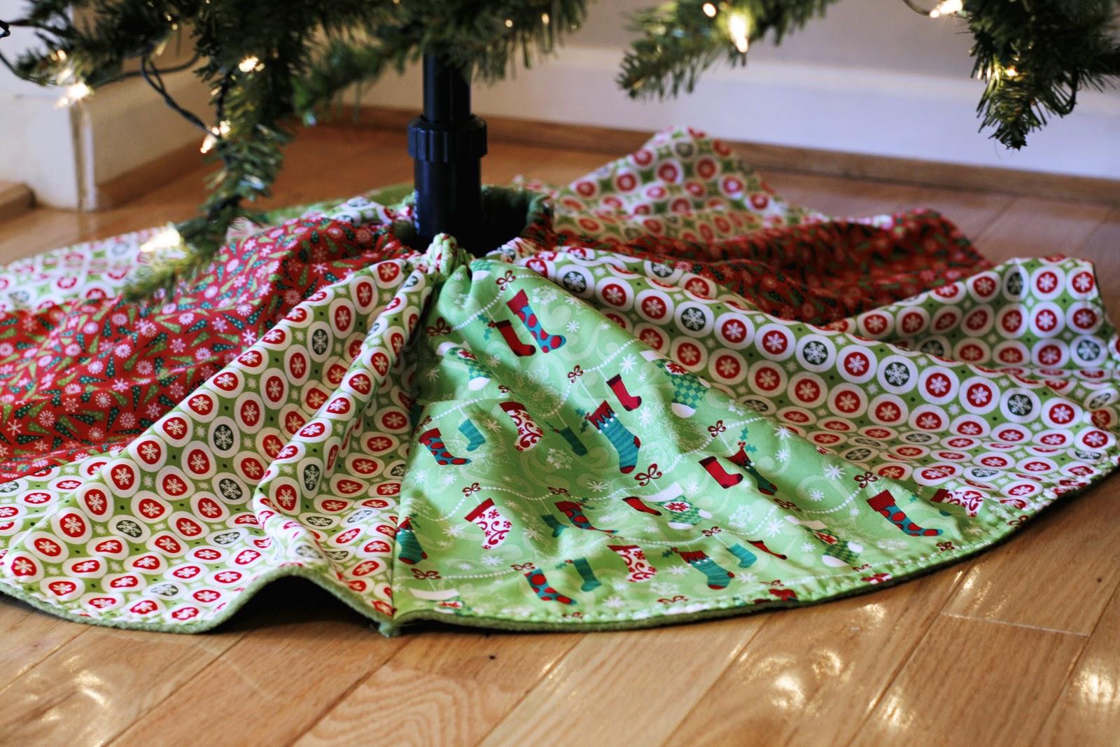 Cocktailmom christmas tree skirt