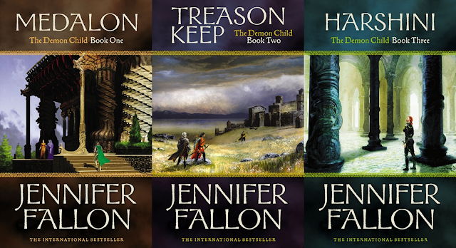 Hythrun Chronicles: Demon Child Trilogy by Jennifer Fallon