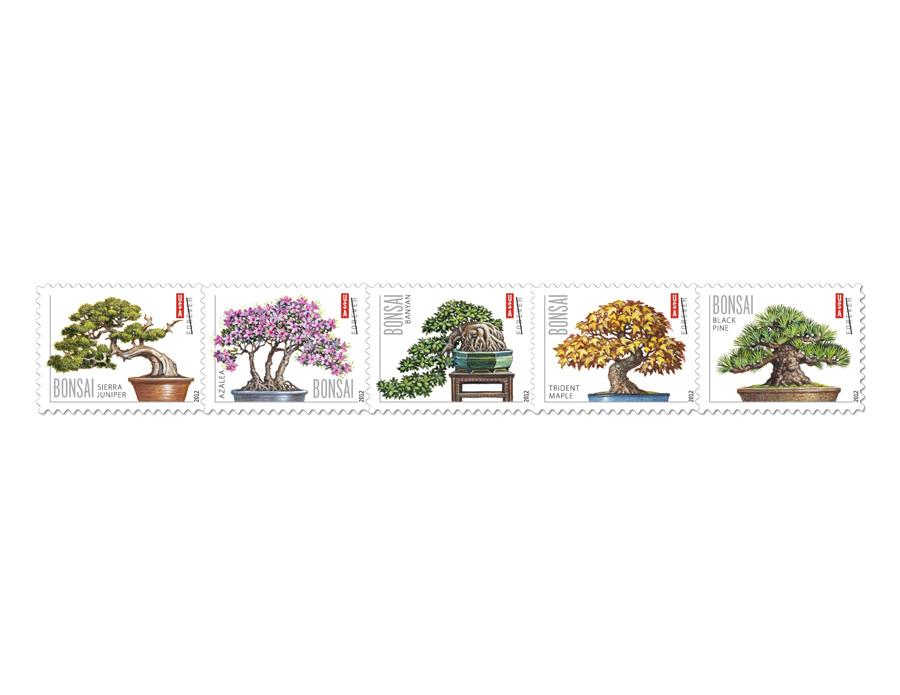 вкусные новогодние марки выпустили в китае (фото)