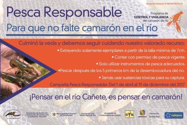 Campaña Pesca Responsable 2017