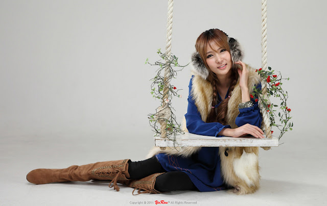 1 Jang Jung Eun - Winter Style-very cute asian girl-girlcute4u.blogspot.com