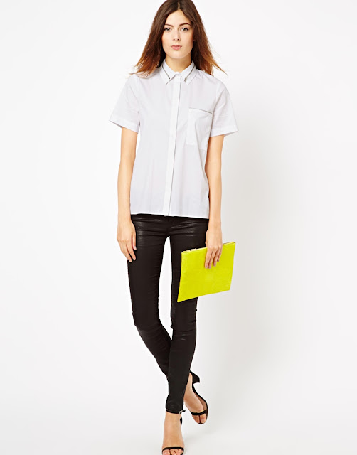shirt with zip detail