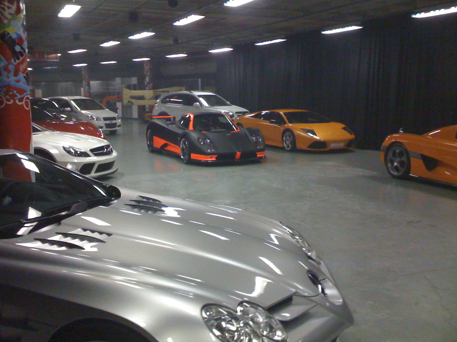 Some Of The Late Lolly Jackson S Car Collection