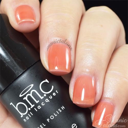 BMC Mosaic Glass Apricot Beauty Swatch