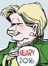 Brian Gable: Hillary Clinton, momentum.