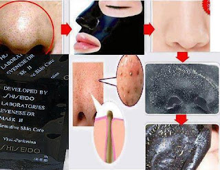 Shiseido Black Mask, shiseido black mask review, shiseido blackhead mask, shiseido black mask murah, shiseido black mask malaysia