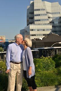 Frank Gehry Building High Line Engagement Shoot