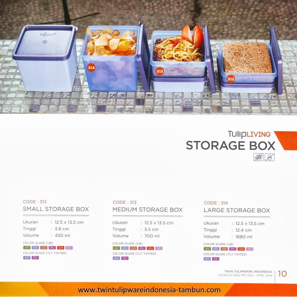 STORAGE BOX - KATALOG TULIPWARE 2013-2014