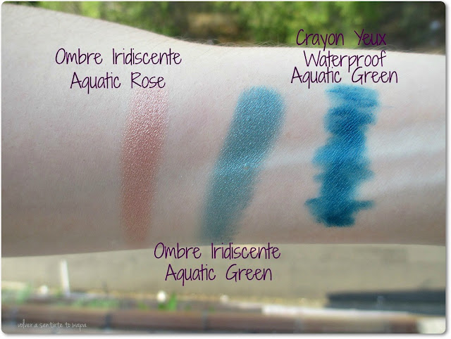 CLARINS - Aquatic Treasures - Swatches