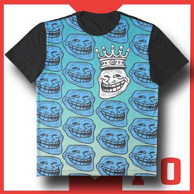 T-Shirt+Camiseta+Graphic+gráfica+The King Troll+King+Troll+cool+divertida+original+personalizable+funny+for men+para hombre+regalo+comprar+online+shop