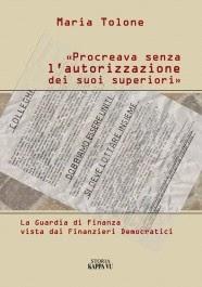 """La prima storia del """"Movimento dei Finanzieri Democratici"""", scritta da Maria Tolone"""