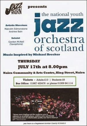 Jazz Youth Orchestra July 17th