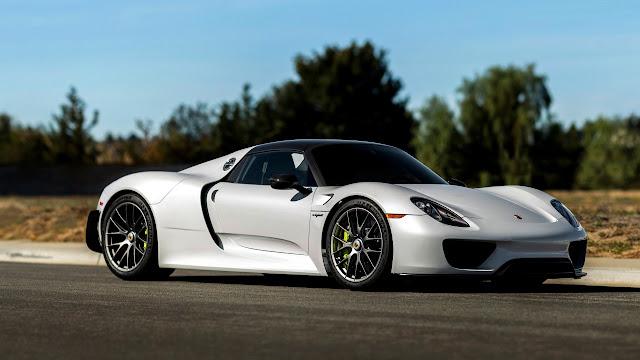 Porsche Spyder 2015