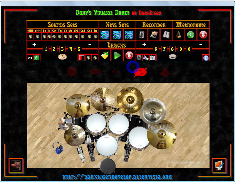DvDrum - Danys Virtual Drum 2.0 Beta 5