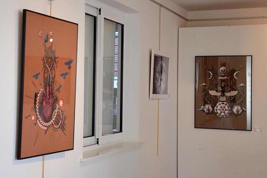 exposition Gaël Chapo et Catherine.P