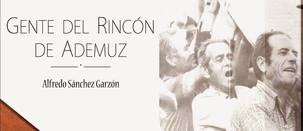 GENTE DEL RINCÓN DE ADEMUZ