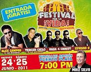 Avanzan preparativos Festival por la Vida en Puerto Plata, R. D.