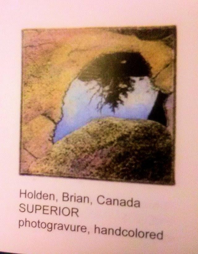 Superior Hand Coloured Photogravure Print