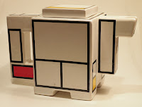 Mondrian teapot by Art4 Ceramics