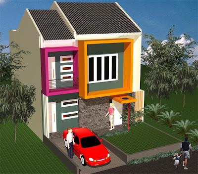 Desain Warna Cat Rumah Minimalis Terbaru