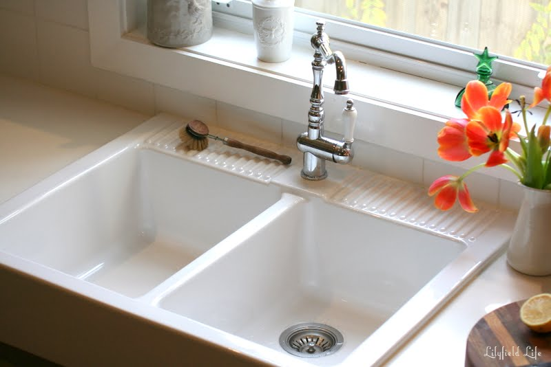 Farmhouse Kitchen Sinks Ikea lilyfield life: loving my ikea domsjÖ sink