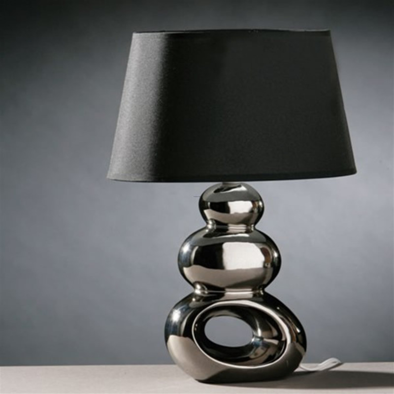 Deluxe home furnishing modern table lamps for bedroom for Modern contemporary table lamps