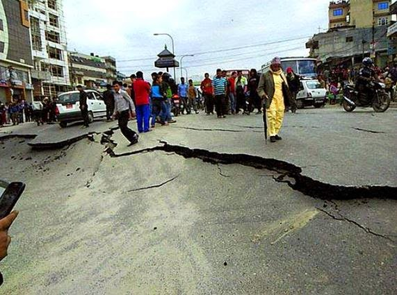 Powerful Earthquake Rocks Nepal