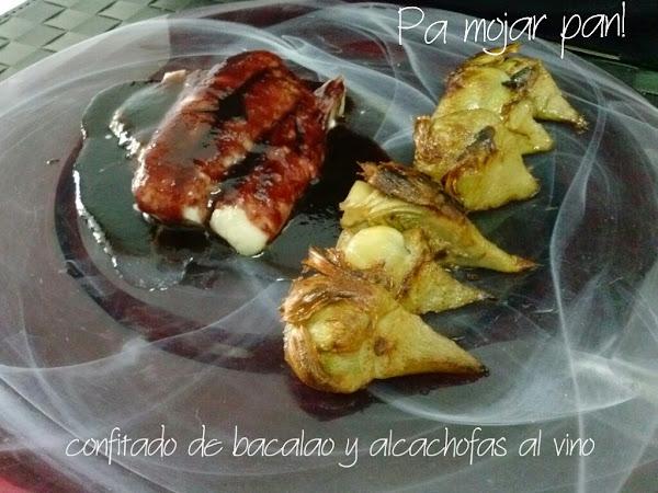 Alcachofas con bacalao cocinar en casa es for Cocinar alcachofas