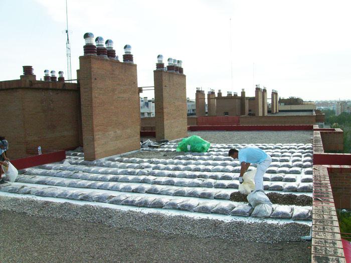 Aislamiento térmico de tejado