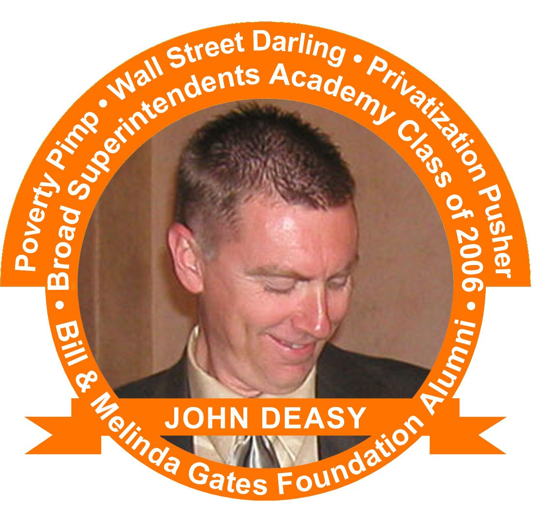 Broad Superintendent Academy graduate John Deasy never taught at a public school, but he was an executive for the Gates Foundation.