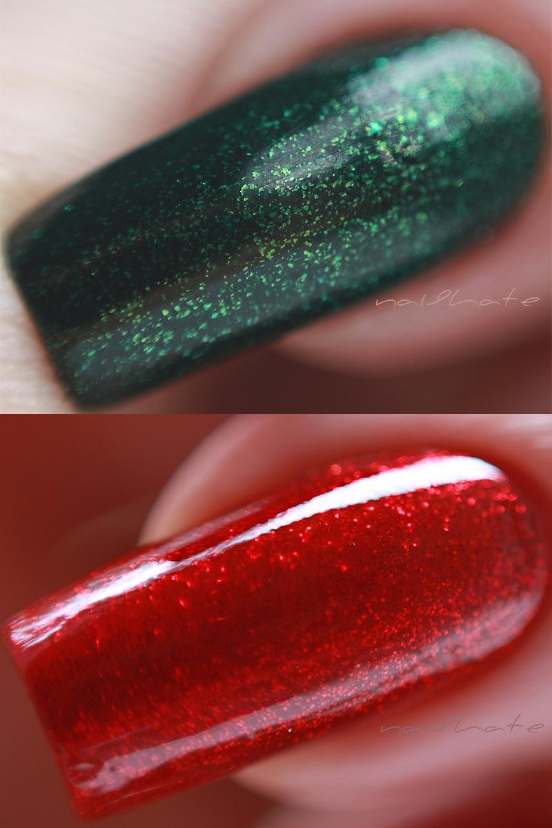 China Glaze Ruby Pumps China Glaze Glittering Garland