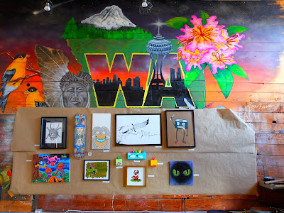 Stone Way Café Washington-Themed Mural
