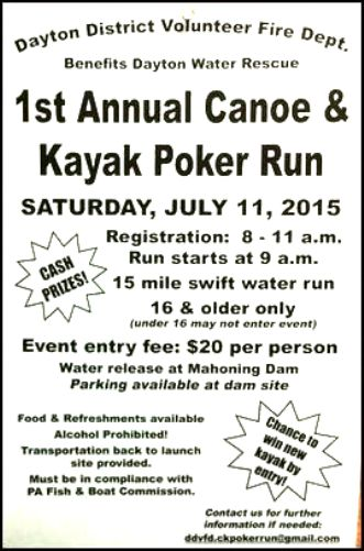 7-11 Canoe & Kayak Run, Mahoning