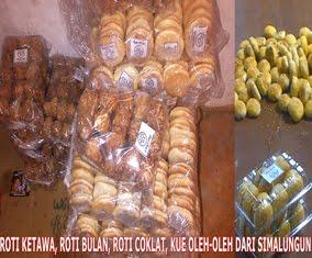 Roti Ketawa, Roti Bulan, Roti Coklat, Kue Oleh-oleh dari Simalungun