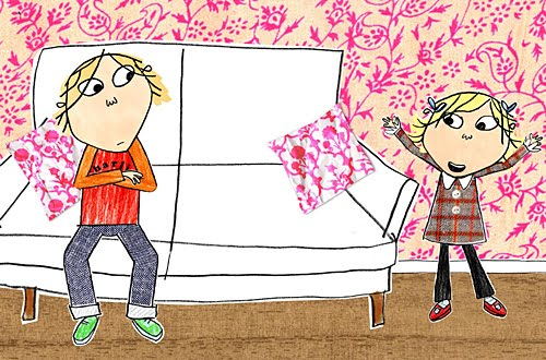 Charlie And Lola Coloring Pages