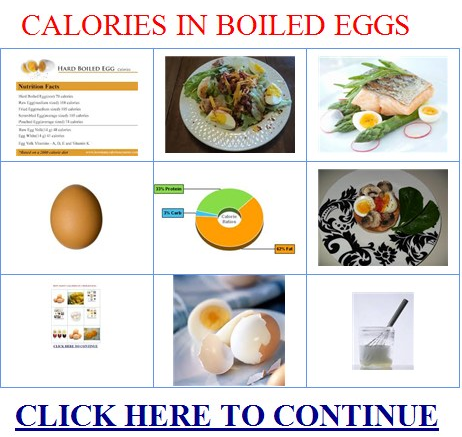 how many calories in a hard boiled egg - lose weight tips