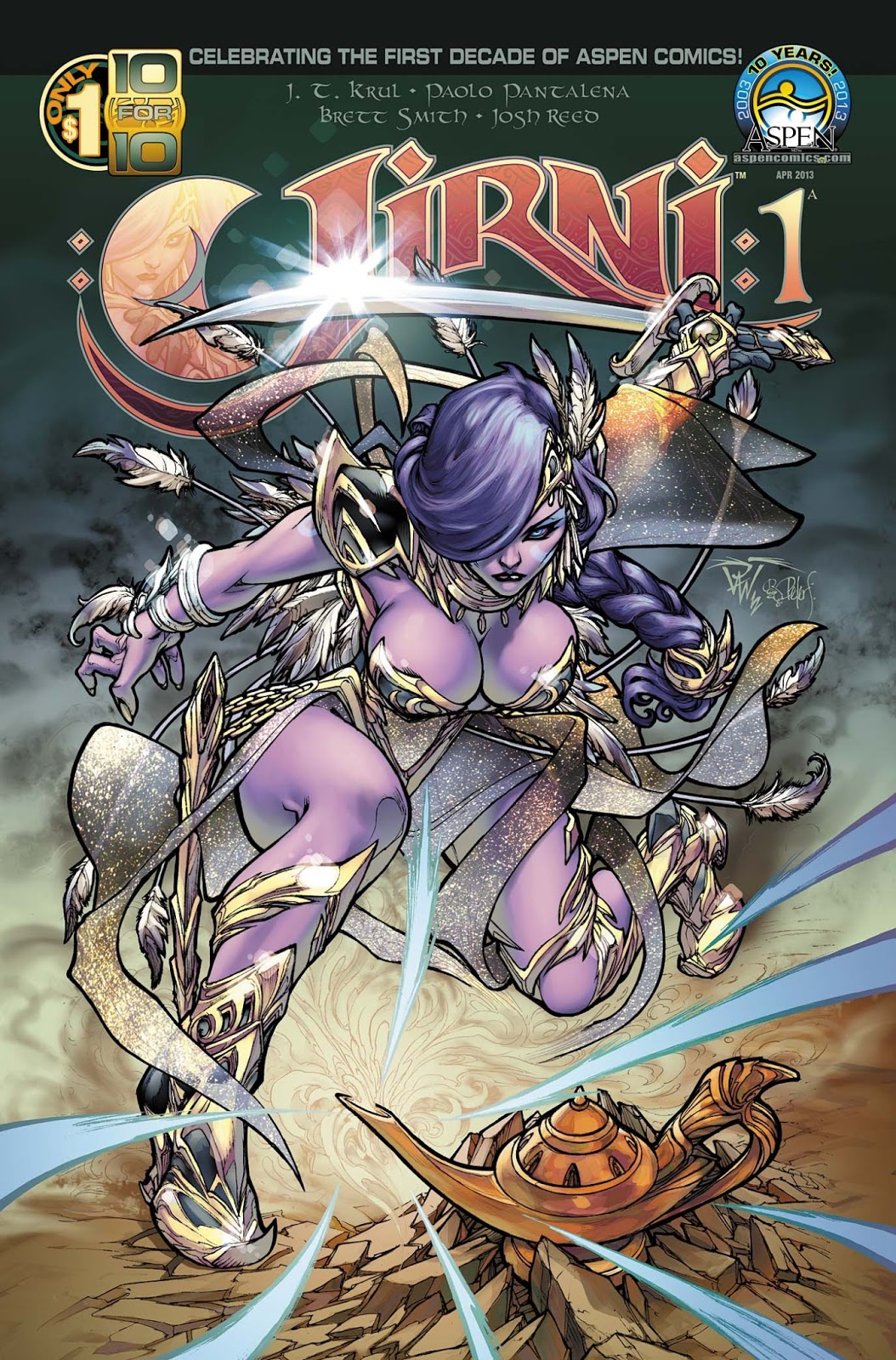 First look of Aspen Comics Jirni #1