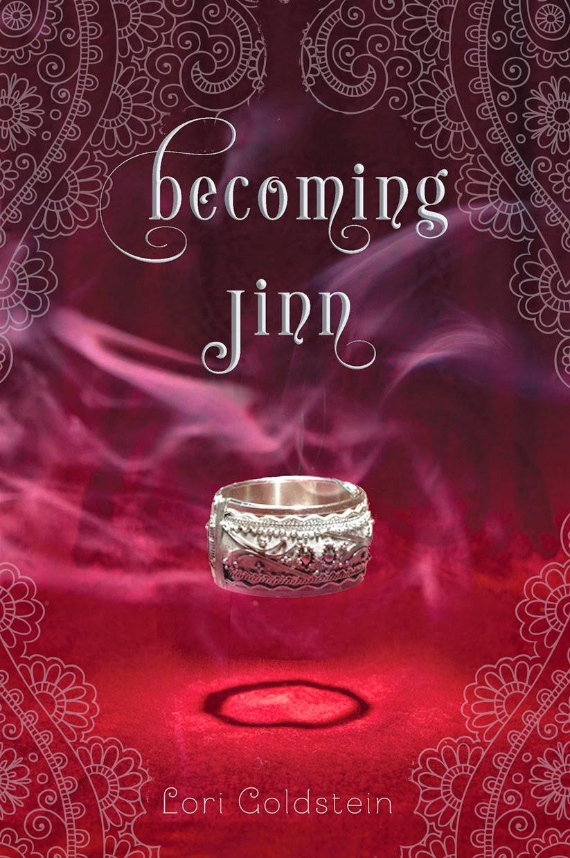 Becoming Jinn by Lori Goldstein cover