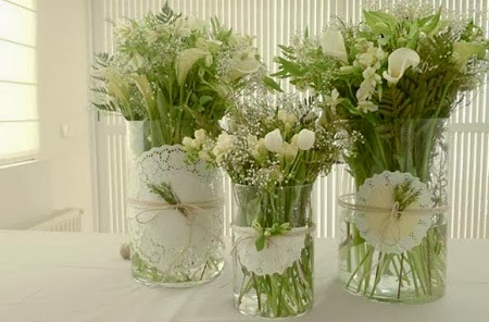 10 ideas para decorar botellas y frascos de - Como decorar jarrones de vidrio ...