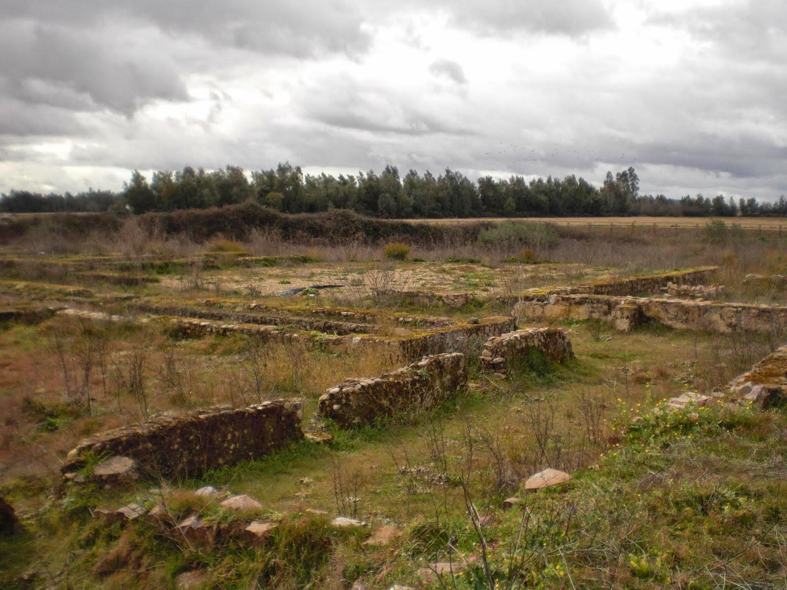 Villa romana de la Majona, en Don Benito