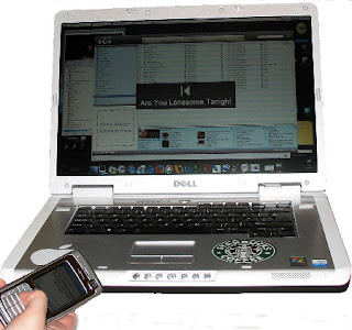 control your laptop by using your mobile