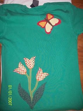 tulipas e borboletas!