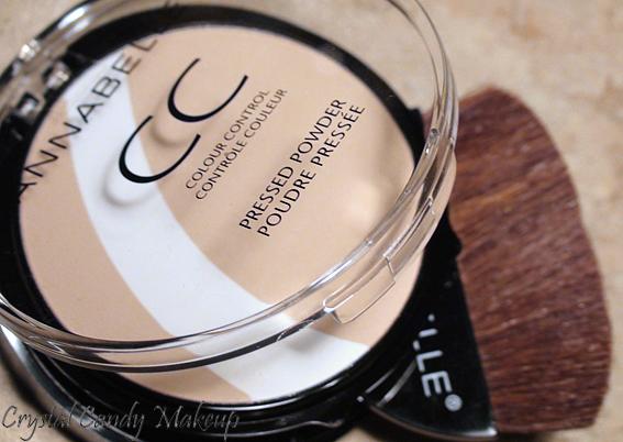 Poudre pressée Contrôle Couleur CC d'Annabelle - Colour Control Pressed Powder - Review
