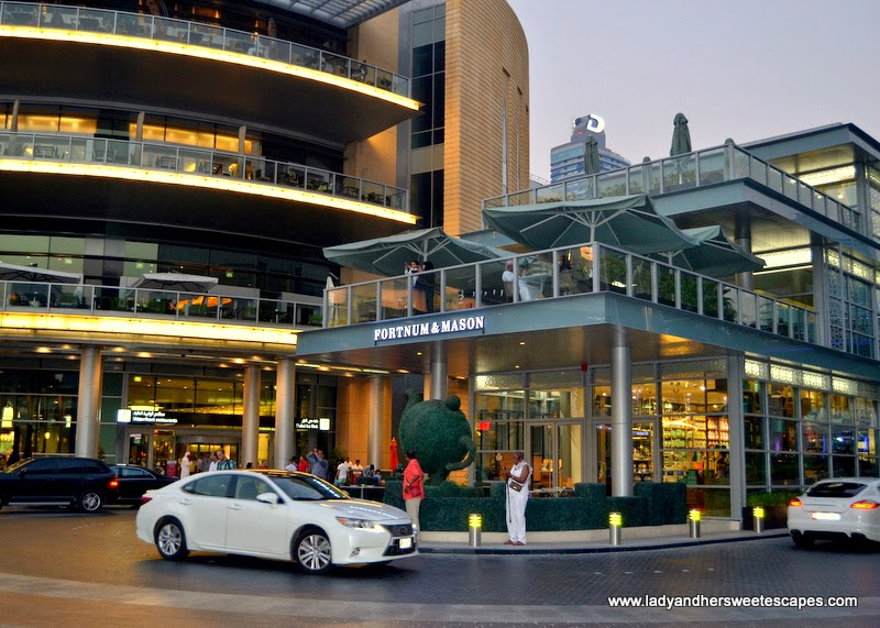 Fortnum and Mason in Downtown Dubai